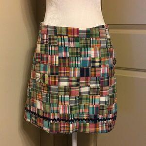 Pretty Cotton Madras Skirt